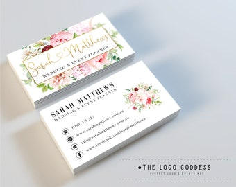 Floral Business Card Etsy