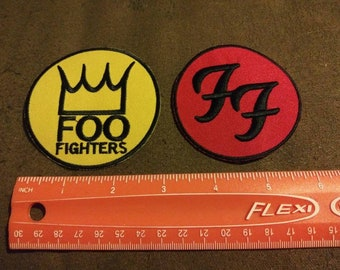 Foo Fighters Patch Etsy