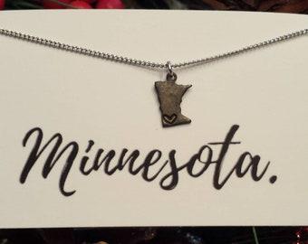 Dainty Minnesota Necklace