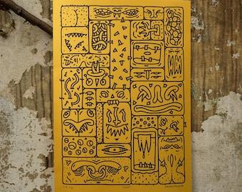 Grid, Silkscreen Print
