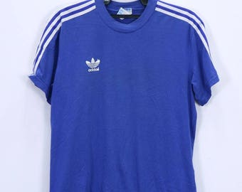 19d73613c99a7 Vintage Adidas Sweater Hoodie small Embroidery logo Three   Etsy