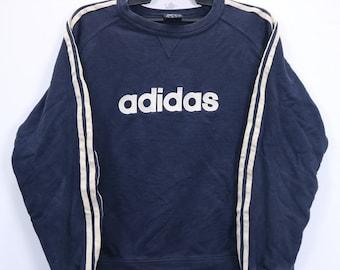 da801ff2fa05b Vintage Adidas Three Stripes Small Embroidery Logo SpellOut   Etsy