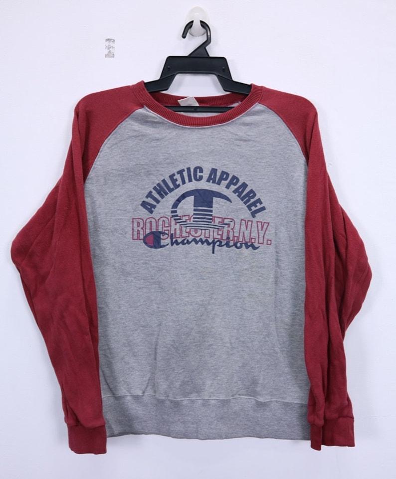 0b089c58227f Vintage Champion Rochester NY Sweatshirts Big Logo Spellout