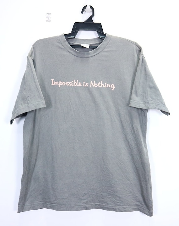 t shirt adidas impossible is nothing