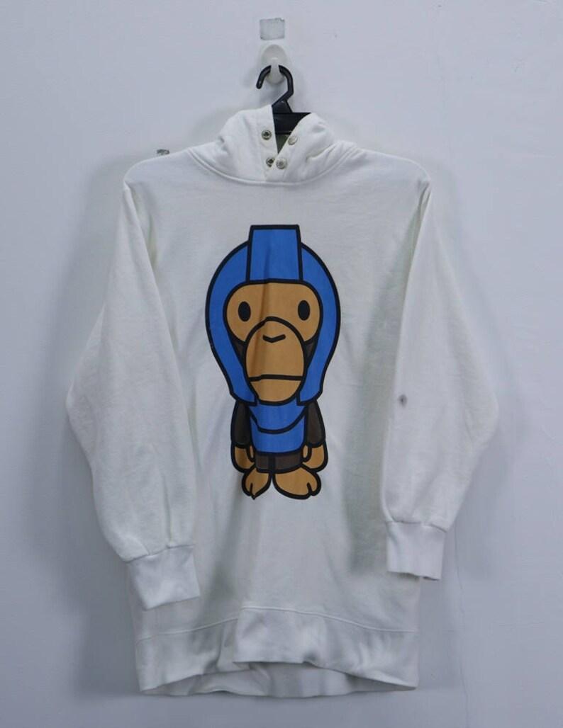 764810504 Vintage Baby Milo Sweatshirt Big Logo Zipper Hoodie Sweater | Etsy