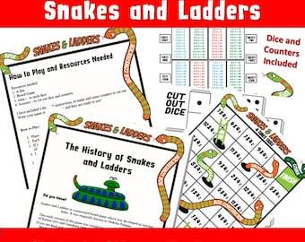 Snake And Ladder Game Pdf