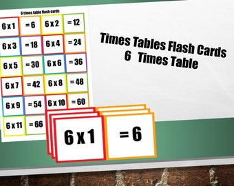 photograph about Printable Multiplication Flash Cards Double Sided titled Exciting Multiplication Flash Playing cards/ Memory Flash Playing cards/ KS2