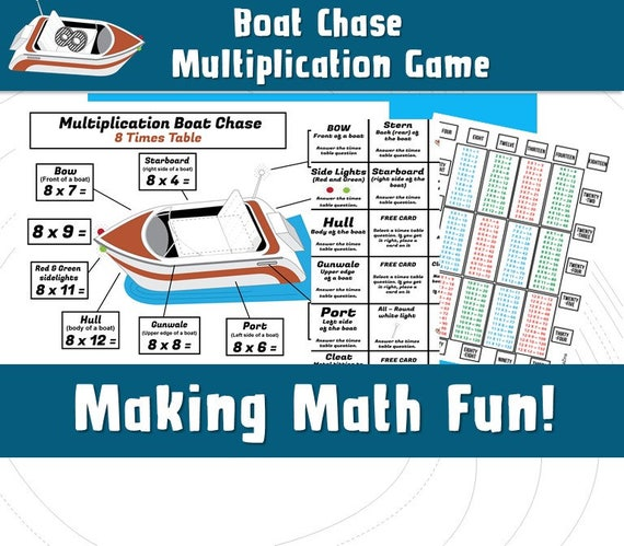 graphic regarding Printable Memory Games for Adults named Printable Video games Youngsters/ Multiplication Video game/ Printable Memory Video games Young children/ Maths Video games Informative/ Boat Chase Board Video games/ Exciting Printable Online games