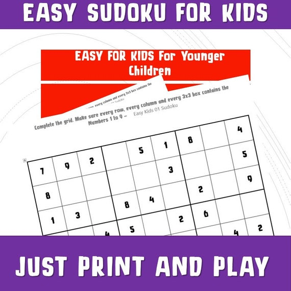 image regarding Printable Sudoku for Kids identify Printable Sudoku for Children/ Quiz Video games/ Young children Basic Sudoku/Printable Game titles Math / Reward Celebration Board Online games/ Pursuits/ Generate Print Perform