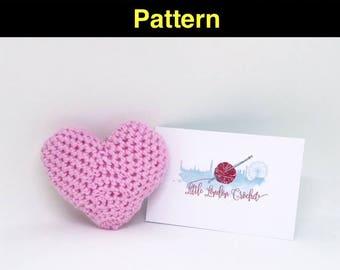 Heart Key Ring Amigurumi Pattern