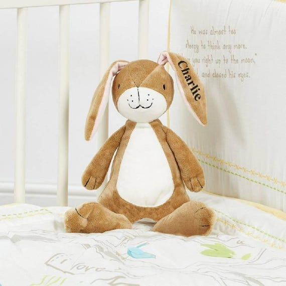 Guess How Much I Love You Nutbrown Hare Comforter Blanket /& Rattle Baby Toys
