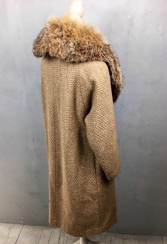 Warm winter coat, Princess coat, Wool coat. Vinta… - image 3