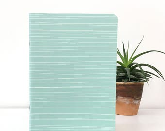 Customizable Notebook A5 graphic pattern