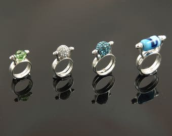 8 mm Interchangeable Bead Rings
