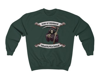 Philadelphia Eagles Sweatshirt Etsy
