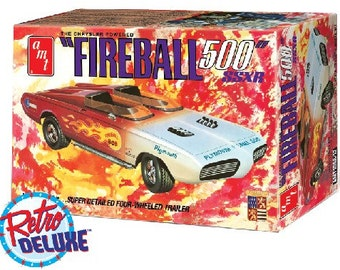 Plastic Model Kit: AMT-1068 George Barris Fireball 500 SSXR Car Commemorative Edition Free Shipping!