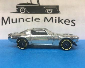 Hot Wheels 1970 Camaro: POLISHED