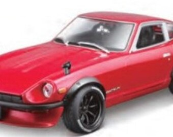 Collectible 1/18 Scale Diecast 1971 Datsun 240z Custom (Met. Red)
