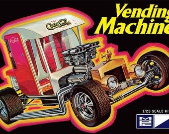 Plastic Model Kit: MPC-871 Coca Cola Vending Machine Show Rod  Model Car Kit Free Shipping!