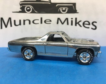 Matchbox 1970 Chevelle El Camino Real Rider Tires: POLISHED