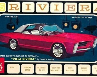 Plastic Model Kit: AMT-1121 1965 Buick Riviera George Barris 3 in 1