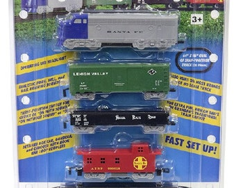 Model Railroading BAC-957 HO Rail Champ Train Set Battery Operated