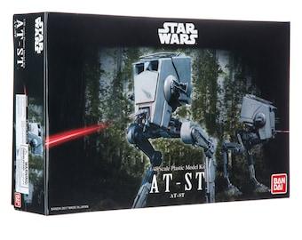 Plastic Airplane Model Kit: Star Wars AT-ST Model Kit Free Shipping!