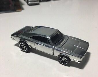 Hot Wheels 69 Dodge Charger 500: POLISHED Mopar