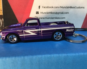 Hot Wheels 1967 Chevy C10 Christmas Ornament,  Keychain or Zipper Pull
