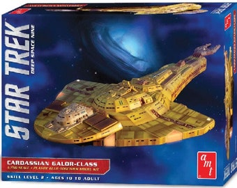 Plastic Airplane Model Kit: AMT-1028 Star Trek Deep Space Nine Cardassian Galor-Class Warship