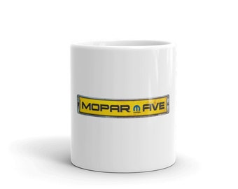 Hot Rod Coffee Mug - Coffee Cup - Tea Cup - Coco Cup - Mopar Cup Free Shipping!