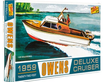 Plastic Model Kit: 1959 Owens Deluxe Cruiser Model Kit Free Shipping!