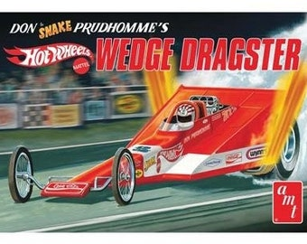 Plastic Model Kit: AMT-1049 Don Snake Prudhomme's Wedge Dragster