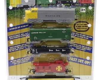 Model Railroading BAC-958 HO Rail Express Train Set Battery Operated