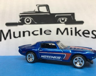 Hot Wheels 1970 Camaro Rubber Tires Real Rider Style