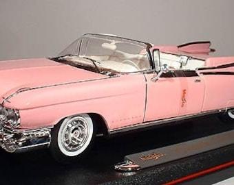 Collectible 1/18 Scale Diecast 1959 Cadillac Eldorado Biarritz (Pink)