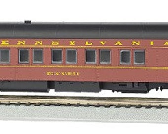 Model Railroading BAC-13902 Bachmann Industries Prr Edisonville Ho Scale 80' Pullman Car with Led Lighting