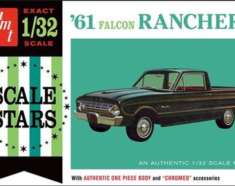 Plastic Model Kit AMT-984 1/32 1961 Falcon Ranchero Plastic Car Model Free Shipping