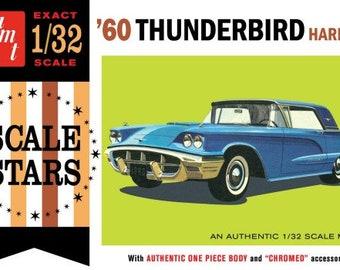 Plastic Model Kit amt-1135 1960 Ford Thunderbird Hardtop Car Plastic Car Model + Best Deal Online + DISPLAY CASE INCLUDED +