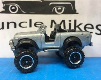 Custom Matchbox International Scout 4X4 BARE METAL