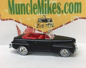 Custom Hot Wheels Biffs 1940 Ford Convertible From Back To The Future With Manure!