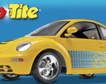Plastic Model Kit RMX-1976 New VW Beetle (Snap) Plastic Car Model Free Shipping!