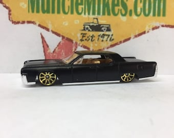 Hot Wheels 64 Lincoln Continental Flat Black