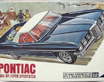 Plastic Model Kit MPC-840 1970 Pontiac Pickup Open Sportster  Plastic Car Model Free Shipping!