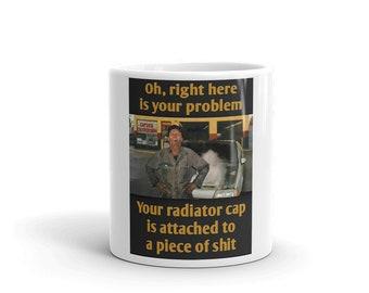 Hot Rod Coffee Mug - Coffee Cup - Tea Cup - Coco Cup - Piece Of Crap Car Cup Free Shipping!