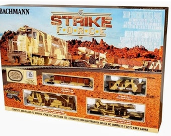 Model Railroading BAC-752 Bachmann Trains - Strike Force Ready To Run Electric Train Set - HO Scale