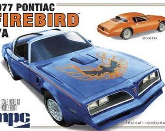 Plastic Model Kit MPC-916 1977 Pontiac Firebird Trans Am Plastic Car Model Free Shipping!