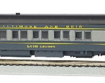 Model Railroading BAC-13903 Bachmann Industries B & O Loch Lomond Ho Scale 80' Pullman Car with Led Lighting