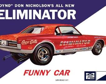 Plastic Model Kit MPC-889 Dyno Don Nicholson's Cougar Eliminator Funny Car Plastic Car Model Free Shipping!