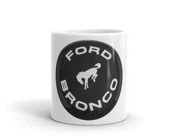 Hot Rod Coffee Mug - Coffee Cup - Tea Cup - Coco Cup - Ford Bronco Cup Free Shipping!
